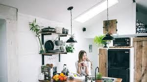 wandgestaltung in der küche tapete farbe deko und mehr