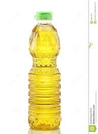 huile cuisine huile de cuisine de grain de paume sur le blanc image stock image