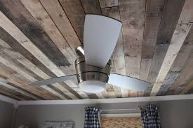 100 Wood On Ceilings Remodelaholic Rustic Pallet Ceiling Tutorial