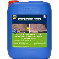anti mousse murs exterieurs antimousses guard traitement anti mousses lichens et chignons