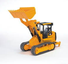 Bruder 1:16 CATERPILLAR Plastic Toy Track Loader 02447 - Catmodels.com