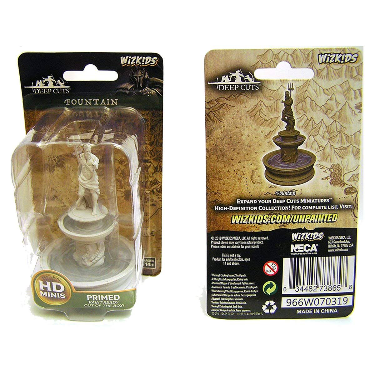 Wizkids Deep Cuts Unpainted Miniatures - Fountain