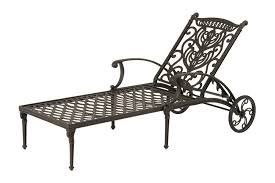 Hanamint Grand Tuscany Patio Furniture by Impressive Wrought Iron Chaise Lounge Hanamint Outdoor Furniture