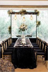Black and Gold Wedding in Paris