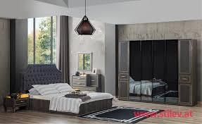 modern dunkel schlafzimmer set stilev möbel