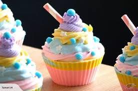BEAUTIFUL Rainbow Love CupcakesLuxury Artisan Soap