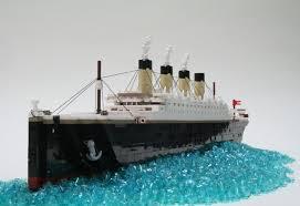 Lego Ship Sinking 3 by Lego Ideas The Olympic