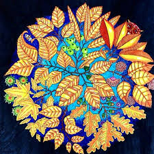 Mandala Owls Secret Garden De Corujas Jardim Secreto Johanna Basford BasfordColoring BookOwlsMandalasColorPictures