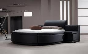 Chambre Avec Lit Rond Lit Rond Design Pour Choisissez Un Lit En Cuir Pour Bien Meubler La Chambre à Coucher