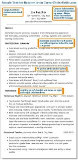 Resume Titles Examples That Stand Out Inspirational Sample Teacher Page 1 Teaching Business Pinterest