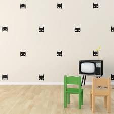 amazing decoration black wall decals crafty ideas superhero masks