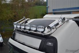 To Fit 13+ Volvo FH4 Globetrotter Standard Roof Light Bar + Jumbo ...