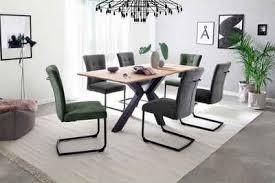 mca furniture freischwinger calanda esszimmerstuhl mit aqua clean bezug nosag federung belastbar bis 120 kg