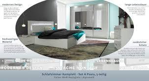 schlafzimmer komplett set a psara 5 teilig farbe weiß