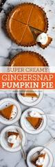 Best Pumpkin Pie With Molasses by Gingersnap Pumpkin Pie Fork Knife Swoon