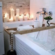 spa badezimmer resort stil kerzen pflegeprodukte aktuelle