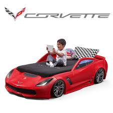 100 Step 2 Fire Truck Corvette Z06 Toddler To Twin Bed Kids Bed