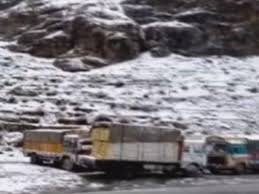Himachal Pradesh: Several Trucks Stuck In Kullu After Heavy Snowfall ... Truck Gets Stuck Under Euclid Bridge That Bit Of Topsoil That Got And Didnt Come Out At Flickr A Truck Driver Stands Next To His Vehicle Which On The A61 Driver Rescued After In High Water Wfmz Meat Yea It Drier Farther Got Stuck In The Muddy Road Stock Photo Picture And Royalty Hundreds Goodsladen Trucks Petrbenapole Port Ronny Salerno Twitter Dtown Ccinnati Two Drivers Wait As Several Are Traffic Metaphor Mud A True Story Family Before Dad Took Grandmas For Drive Throttle Wide Removed From Banksville Pittsburgh Postgazette