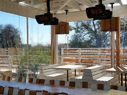 Vinyl Roll Up Patio Shades by Patio Enclosures For Restaurants And Bars That Roll Up