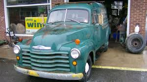 100 1952 Chevy Panel Truck Barn Find Is An Amazing Original