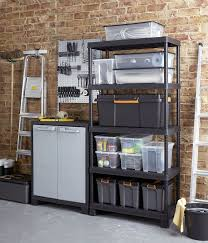 Suncast Plastic Garage Storage Cabinets by Shelves For Sheds Stunning Garage Is Simple With The Proper