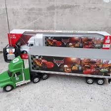 100 Remote Control Semi Truck With Trailer Cek Harga RC Flatbed Kid