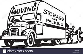 Truck Movers Vintage Retro Stock Vector Images - Alamy Clipart Of A Grayscale Moving Van Or Big Right Truck Royalty Free Pickup At Getdrawingscom For Personal Use Drawing Trucks 74 New Cliparts Download Best On Were Images Download Car With Fniture Concept Moving Relocation Retro Design Best 15 Truck Stock Vector Illustration Auto Business 46018495 28586 Stock Vector And