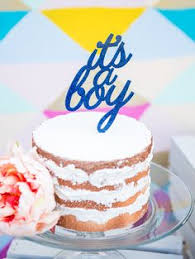 Its A Boy Cake Topper For Baby Shower