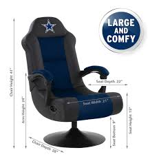 Dallas Cowboys Blue & Black Gaming Chair With Built-in Bluetooth Gurugear 21channel Bluetooth Dual Gaming Chair Playseat Bluetooth Gaming Chair Price In Uae Amazonae Brazen Panther Elite 21 Surround Sound Giantex Leisure Curved Massage Shiatsu With Heating Therapy Video Wireless Speaker And Usb Charger For Home X Rocker Vibe Se Audi Vibrating Foldable Pedestal Base High Tech Audio Tilt Swivel Design W Adrenaline Xrocker Connectivity Subwoofer Rh220 Beverley East Yorkshire Gumtree Pro Series Ii 5125401 Black