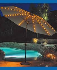 solar 9 lighted patio umbrella nucleus home