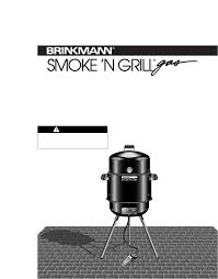 Brinkmann Electric Patio Grill Manual by Brinkmann Smoker Outdoor Gas Cooker User Guide Manualsonline Com