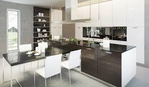 die küche mit halbinsel platzsparend und multifunktionell