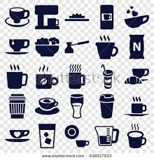 Coffee Icons Set Of 25 Filled Such As Mug Vending Machine