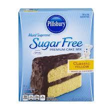 Pillsbury Moist Supreme Sugar Free Premium Cake Mix Classic Yellow