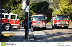 Firetrucks At Grizzly Peak Stock Photo. Image Of Trucks - 97309646