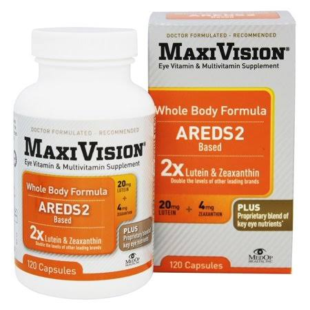 Maxivision Whole Body Formula - 120 Capsules