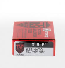 5 56 NATO 75gr TAP SBR