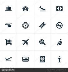 VektorIllustration Satz Von Einfachen Kommunikation Icons Elemente