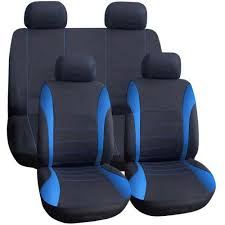 AUTOYOUTH Universal Car Seat Covers Full Set Automobile Seat Covers ...