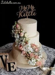 Pomander Wedding Cake Rustic Ivory