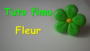 tuto fimo fleur