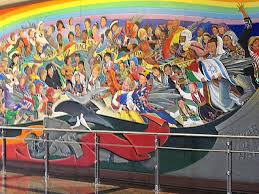 Denver Airport Murals Conspiracy Theory by Denver Colorado Airport Conspiracy Real Unexplained Mysteries