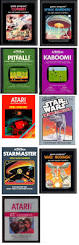 Halloween Atari 2600 Reproduction by Atari 2600 Games Combat Space Invaders Pitfall Kaboom Star