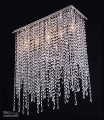 Modern Crystal Chandelier Lighting Drop Pendant Lamp For Dining Room GHJC