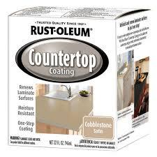 Bathtub Refinishing Kit Menards by Rust Oleum Satin Cobblestone Countertop Coating 1 Qt At Menards