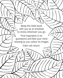 The Little Book Of Calm Coloring 9781501137556in01