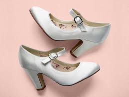 madeline mary jane satin wedding shoes