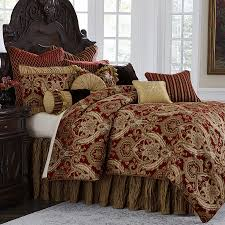 Michael Amini Lafayette Bedding King & Queen Luxury Bedding Set