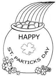 Free Printable Coloring Vibrant Creative St Pattys Day Pages Simple Patrick Sheets 1000 Images About Dibujos Patricks On