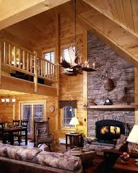 Awesome Log Cabin Bedroom Decorating Ideas Contemporary Interior